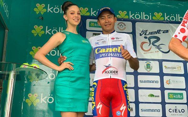 Efrén Santos con la cuarta etapa en Costa Rica