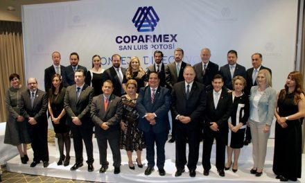 Cambio directiva de Coparmex SLP