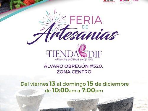 Ferias de Artesanías: DIF ESTATAL