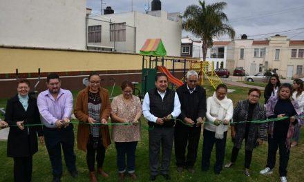 Rehabilitación de área verde Quintas de la Hacienda III