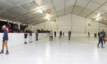 Inaugurarán pista de hielo