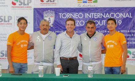 Presentan Torneo de Futbol Tuzo Scout 2019