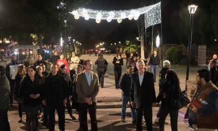 Luminarias led en calzada de Guadalupe