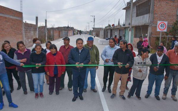 Modernización de la calle Naranjos