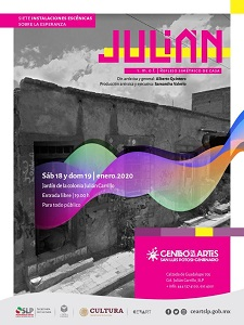 """Presentación de """"Julián/Reflejo simétrico de casa"""""""
