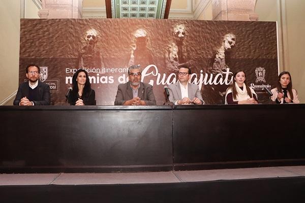 Exposición itinerante momias de Guanajuato