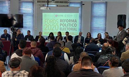 Segundo Foro Reforma Político-Electoral en Rioverde
