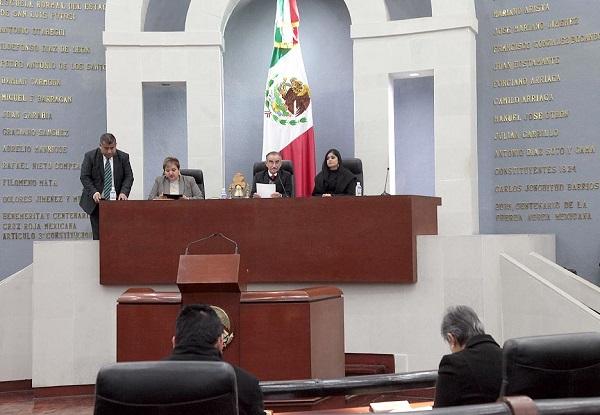 Primera sesión de la Diputación Permanente del año