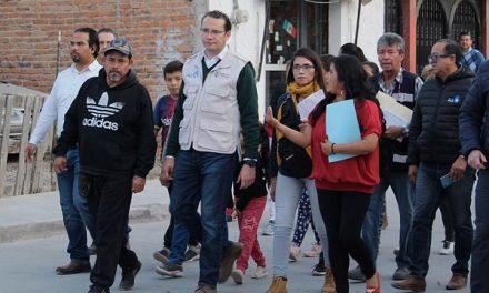 """""""GOBIERNO DE A PIE"""" EN COLONIA BELLAS LOMAS"""