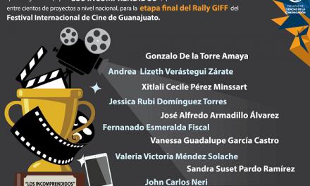 Etapa final del Rally GIFF del FIC de Guanajuato