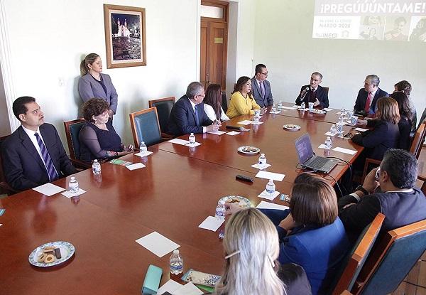 Reunión con la Asociación de Abogados de SLP