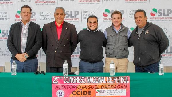 PRESENTAN EL II CONGRESO NACIONAL DE FUTBOL