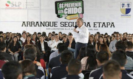 """Campaña """"Prevenir Está Chido en tu Escuela»"""