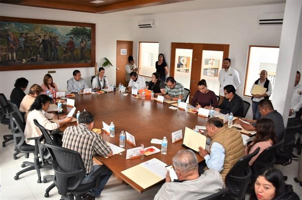 Sesión ordinaria del Consejo Municipal de Vivienda