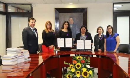 Convenio de colaboración IMES y el Poder Judicial