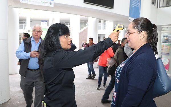 FILTROS SANITARIOS EN LA UAM SLP