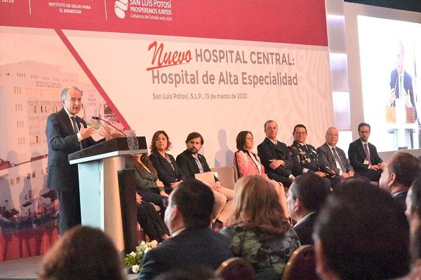 """Nuevo Hospital Central """"Ignacio Morones Prieto"""""""