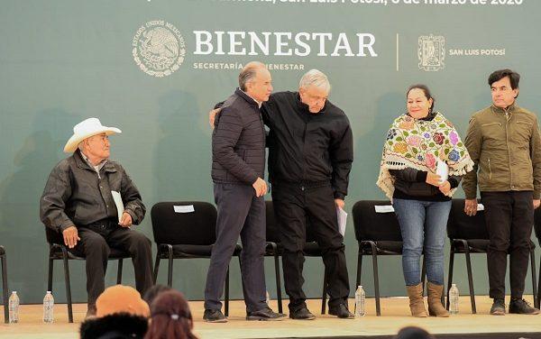 Programas del Bienestar en Mexquitic