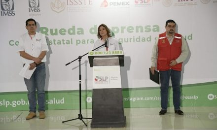 SLP REPORTA 16 CASOS CONFIRMADOS POR COVID-19