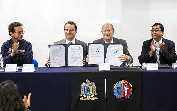 Convenio colaboración UASLP y Ayuntamiento SLP
