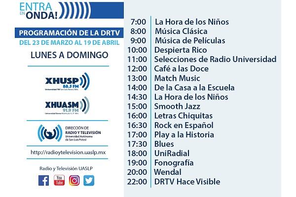 """Campaña """"Entra en onda"""" Radio Universidad"""