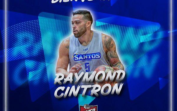 Raymond Cintrón 'fichaje' del CB Santos