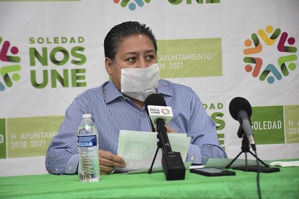 ACCIONES DE APOYO A LA SOCIEDAD EN SOLEDAD