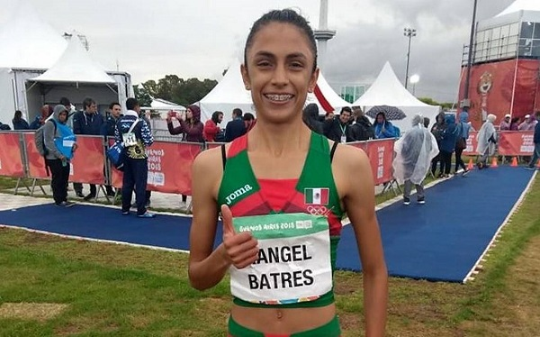 Lorena Itzel Rangel Batres se concentra