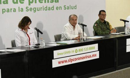 124 casos Covid 19 y 9 fallecidos en el Estado SLP