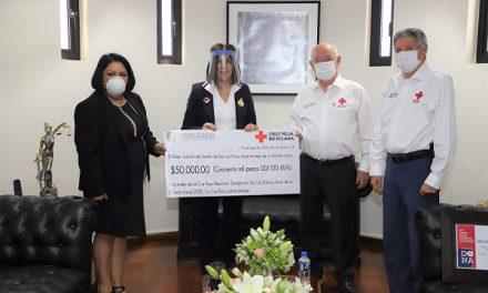 Poder Judicial del Estado se suma colecta Cruz Roja