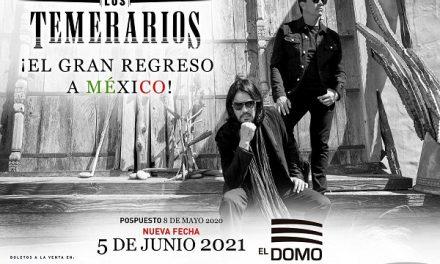 Nueva fecha gira de LOS TEMERARIOS