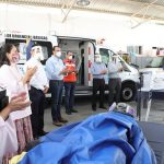 Saint-Gobain entregó en donación trajes especiales