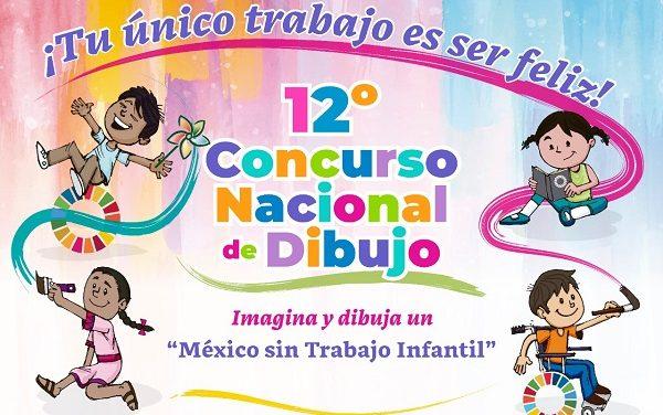 """CONCURSO DE DIBUJO """"UN MÉXICO SIN TRABAJO INFANTIL"""""""