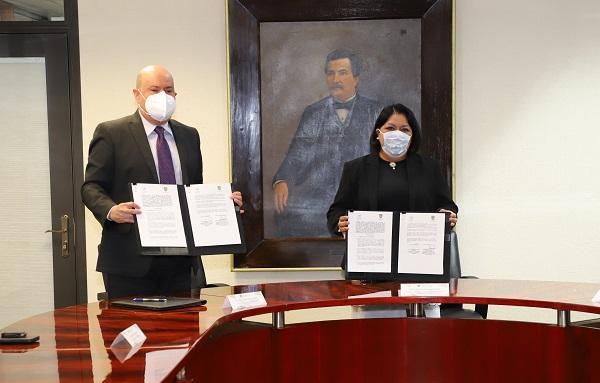 STJ y CJ y CDEH firmaron convenio de colaboración
