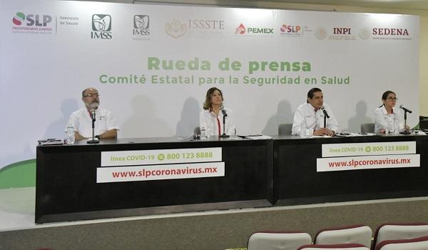 143 CASOS DE CORONAVIRUS Y 10 DEFUNCIONES EN SLP