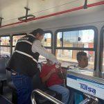 SCT REFUERZA MEDIDAS EN TRANSPORTE PÚBLICO