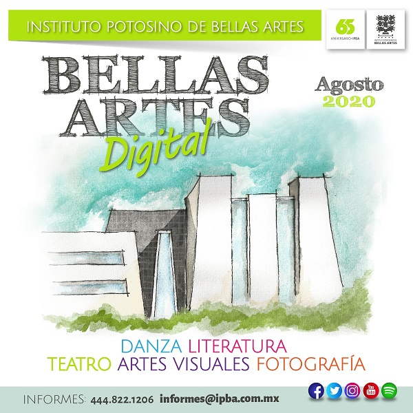 "ANUNCIA IPBA ""BELLAS ARTES DIGITAL"""