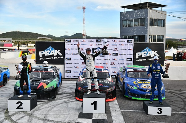 Max Gutiérrez vence en Nascar Fedex Challenge