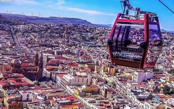 Primer teleférico de México está en Zacatecas