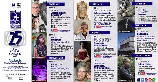 Actividades virtuales del Festival Fotovisión