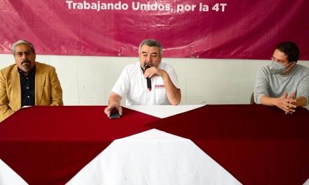 Reitera Morena SLP que no hay candidatos ni precandidatos