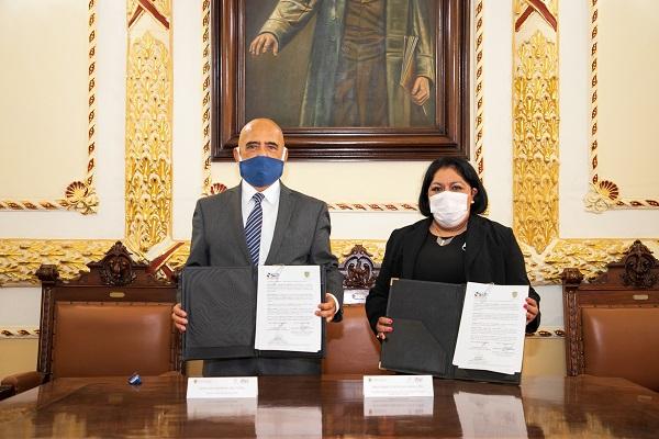 Firma de convenio colaboración interinstitucional