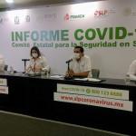 CONTINÚAN EN SLP CASOS DE COVID-19 A LA BAJA