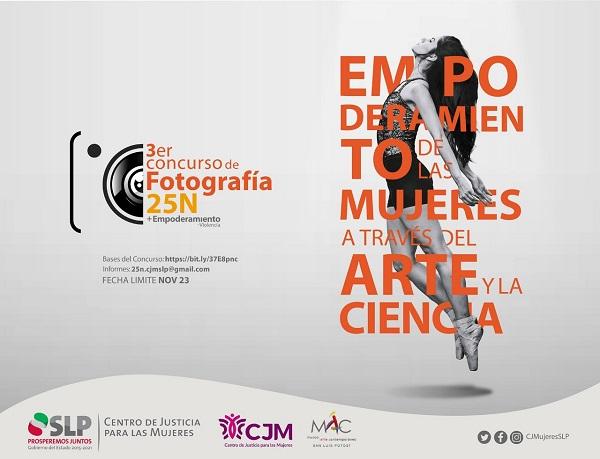 TERCER CONCURSO DE FOTOGRAFÍA 25N: CJM