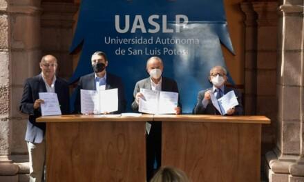 Convenio Interinstitucional UASLP y el INAH