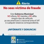 Autoridades previenen sean víctimas de fraude