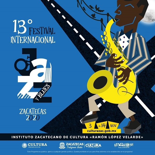 13º FESTIVAL INTERNACIONAL DE JAZZ Y BLUES 2020