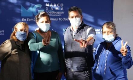 MGB con la militancia de Guadalcázar y Villa Hidalgo