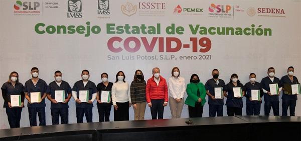 Instalan Consejo Estatal de Vacunación contra el COVID-19