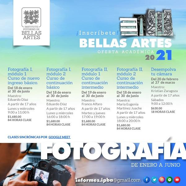 TALLERES DIGITALES DE ARTES VISUALES Y FOTOGRAFÍA